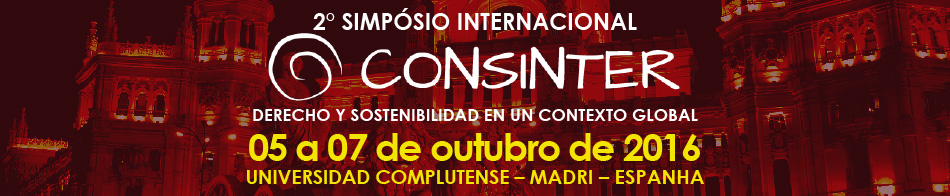 2� Simp�sito Internacional CONSINTER - Universidad Complutense de Madrid - 2016