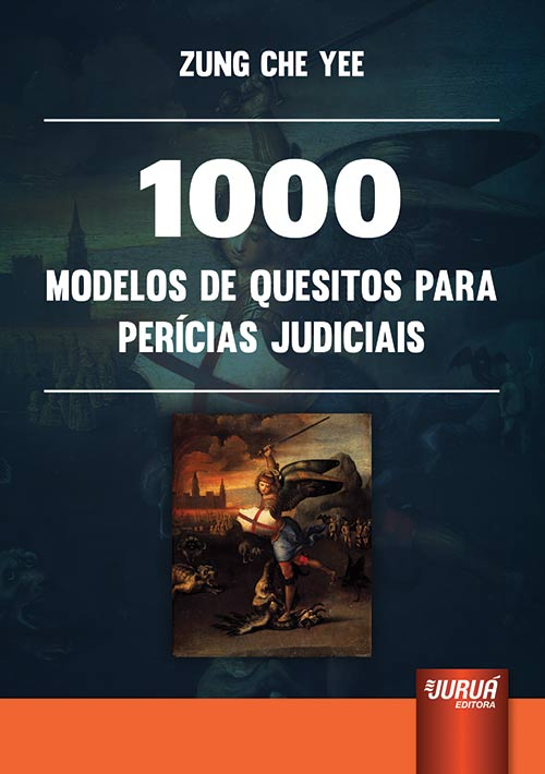 Juruá Editora 1000 Modelos De Quesitos Para Perícias
