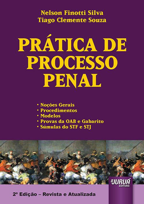 Juruá Editora Prática De Processo Penal Noções Gerais