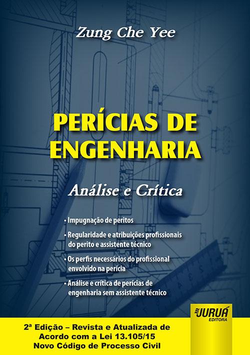 Juruá Editora - Perícias de Engenharia - Análise e Crítica