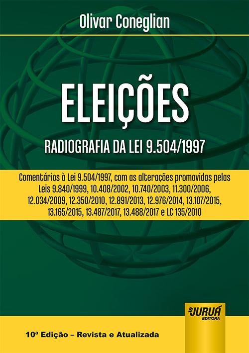 juruá editora eleições radiografia da lei 9 504 1997