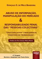Abuso de Mercado e Responsabilidade Penal das Pessoas (Não) Colectivas