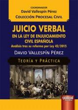 Juicio Verbal en la Ley de Enjuiciamiento Civil Española