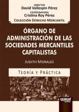 Órgano de Administración de las Sociedades Mercantiles Capitalistas
