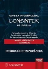 Revista Internacional Consinter de Direito - Ano VII - Número XII - 1º Semestre 2021