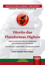 Direito das Plataformas Digitais - Regulação Privada da Liberdade de Expressão na Internet