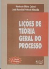 Capa do livro: Lições de Teoria Geral do Processo, Maria da Glória Colucci e José Maurício Pinto de Almeida