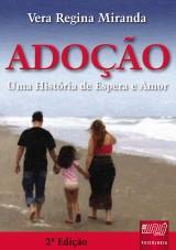 Capa do livro: Adoção, Vera Regina Miranda