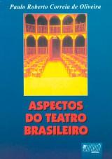 Capa do livro: Aspectos do Teatro Brasileiro, Paulo Roberto Correia de Oliveira