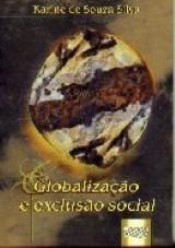 Capa do livro: Globalização e Exclusão Social, Karine de Souza Silva