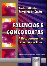 Capa do livro: Falências e Concordatas, Carlos Alberto Farracha de Castro