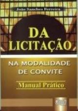Capa do livro: Licitação, Da, João Sanches Ferreira