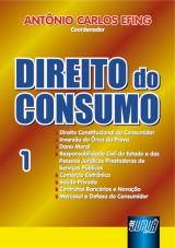 Capa do livro: Direito do Consumo - Nº 1, Coordenador: Antônio Carlos Efing