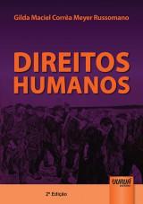 Capa do livro: Direitos Humanos, Gilda Maciel Corrêa Meyer Russomano