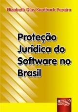 Capa do livro: Proteção Jurídica do Software no Brasil, Elizabeth Dias Kanthack Pereira