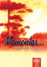 Capa do livro: Momentos..., Vidal Idony Stockler