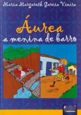 Capa do livro: �urea a Menina de Barro, Maria Margareth Garcia Vieira