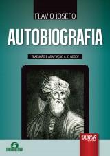 Capa do livro: Autobiografia, Flávio Josefo - Tradução e Adaptação A. C. Godoy