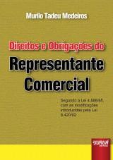 Capa do livro: Direitos e Obrigações do Representante Comercial, Murilo Tadeu Medeiros