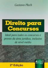 Capa do livro: Direito para Concursos - 2ª Edição, Gustavo Plech