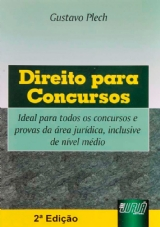 Capa do livro: Direito para Concursos, Gustavo Plech
