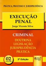 Capa do livro: Execução Penal - PPJ Criminal vol. 2 - 2ª Edição, Jorge Vicente Silva