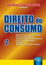 Capa do livro: Direito do Consumo - Nº 2, Coordenador: Antônio Carlos Efing