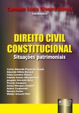 Capa do livro: Direito Civil Constitucional - Situações Patrimoniais, Coordenadora: Carmem Lucia Silveira Ramos