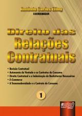 Capa do livro: Direito das Relações Contratuais - nº 1, Coordenador: Antônio Carlos Efing