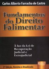 Capa do livro: Fundamentos do Direito Falimentar, Carlos Alberto Farracha de Castro