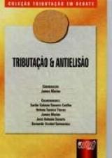 Capa do livro: Tributação e Antielisão - Livro 3, Coordenação: James Marins