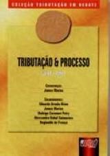 Capa do livro: Tributação e Processo - Livro 5 - Tomo I, Coordenação: James Marins