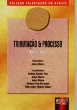 Capa do livro: Tributação e Processo - Livro 5 - Tomo II, Coordenação: James Marins