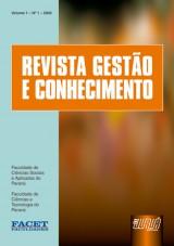 Capa do livro: Revista Gestão e Conhecimento - Volume 1, Revista das Faculdades FACET