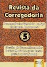 Capa do livro: Revista da Corregedoria-Geral do Estado do Paraná - Nº 5, Gestão do Desembargador Tadeu Marino Loyola Costa (Biênio 2001/2002)
