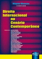 Capa do livro: Direito Internacional no Cenário Contemporâneo, Coordenador: Wagner Menezes