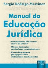 Capa do livro: Manual da Educação Jurídica, Sergio Rodrigo Martinez