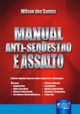 Capa do livro: Manual Anti-Seqüestro e Assalto, Wilson dos Santos
