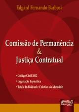 Capa do livro: Comissão de Permanência e Justiça Contratual, Edgard Fernando Barbosa