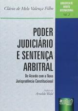 Capa do livro: Poder Judici�rio e Senten�a Arbitral - Biblioteca de Direito Internacional - Vol. 2, Cl�vio de Melo Valen�a Filho