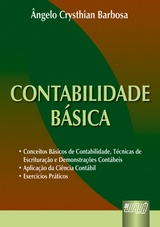 Capa do livro: Contabilidade Básica, Ângelo Crysthian Barbosa