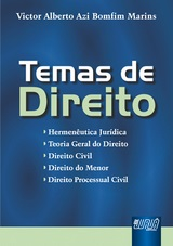 Capa do livro: Temas de Direito, Victor Alberto Azi Bomfim Marins