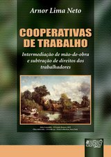 Capa do livro: Cooperativas de Trabalho, Arnor Lima Neto