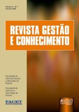 Capa do livro: Revista Gestão e Conhecimento - Volume 2, Revista das Faculdades FACET