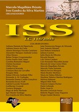 Capa do livro: ISS - Lei Complementar 116/2003, Organizadores: Marcelo Magalhães Peixoto e Ives Gandra da Silva Martins