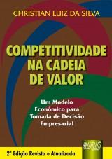 Capa do livro: Competitividade na Cadeia de Valor, Christian Luiz da Silva