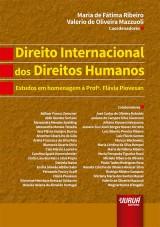 Capa do livro: Direito Internacional dos Direitos Humanos, Coordenadores: Maria de Fátima Ribeiro, Valerio de Oliveira Mazzuoli