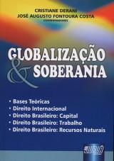 Capa do livro: Globalização & Soberania, Cristiane Derani