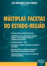 Capa do livro: M�ltiplas Facetas do Estado-Regi�o, Organizador: Lu�s Alexandre Carta Winter