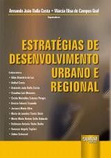 Capa do livro: Estratégias de Desenvolvimento Urbano e Regional, Organizadores: Armando João Costa e Márcia Elisa de Campos Graf